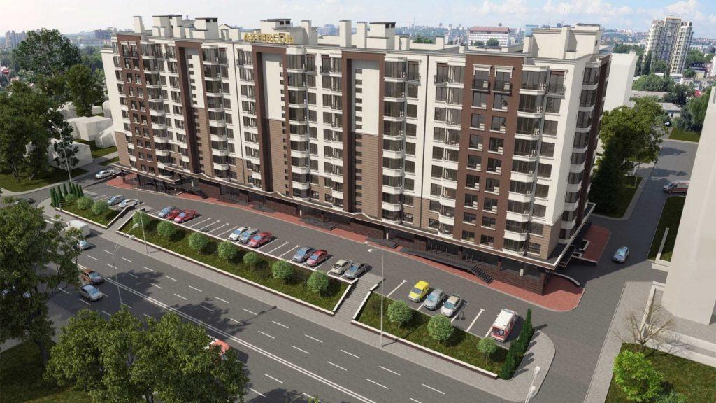Apartament de vanzare Chisinau Alba Iulia residence casa noua