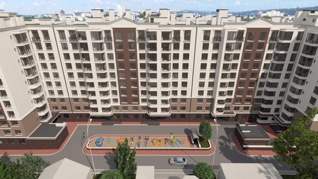 Apartament de vanzare Chisinau Alba Iulia residence zona buna