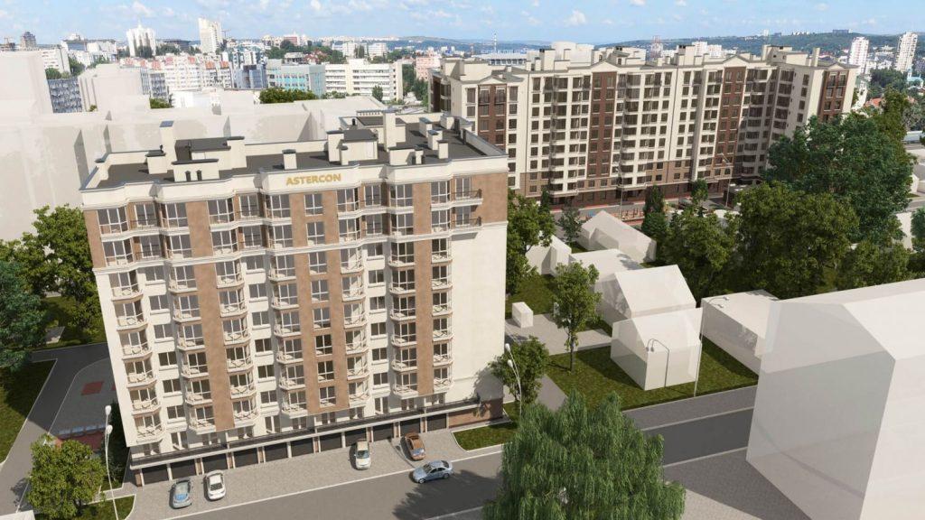Apartament de vanzare Chisinau Urban Residence zona rezidentiala